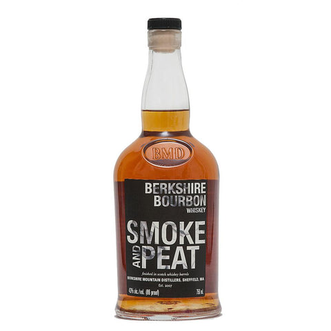 Berkshire Mountain Distillers Smoke & Peat Bourbon Whiskey - De Wine Spot | Curated Whiskey, Small-Batch Wines and Sakes
