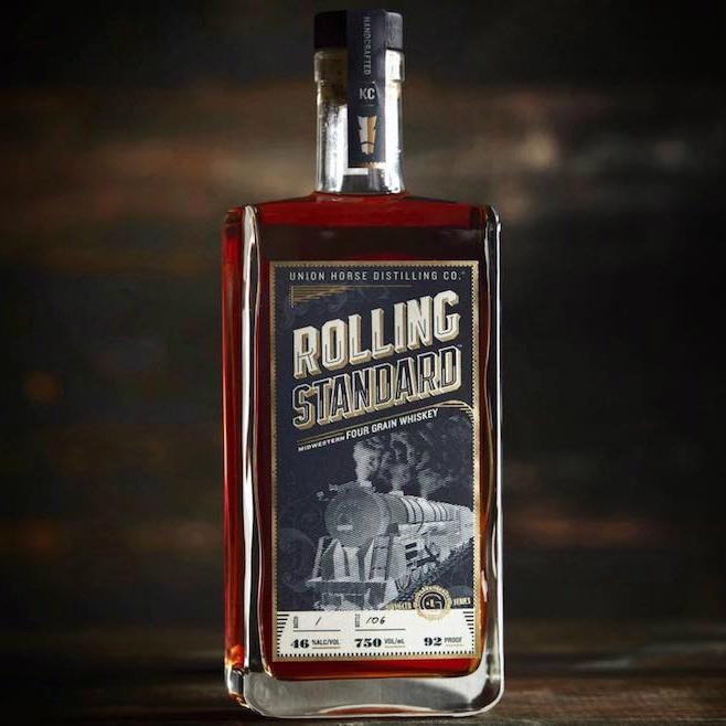 Union Horse Distilling Co Rolling Standard Four Grain Whiskey - De Wine Spot | Curated Whiskey, Small-Batch Wines and Sakes