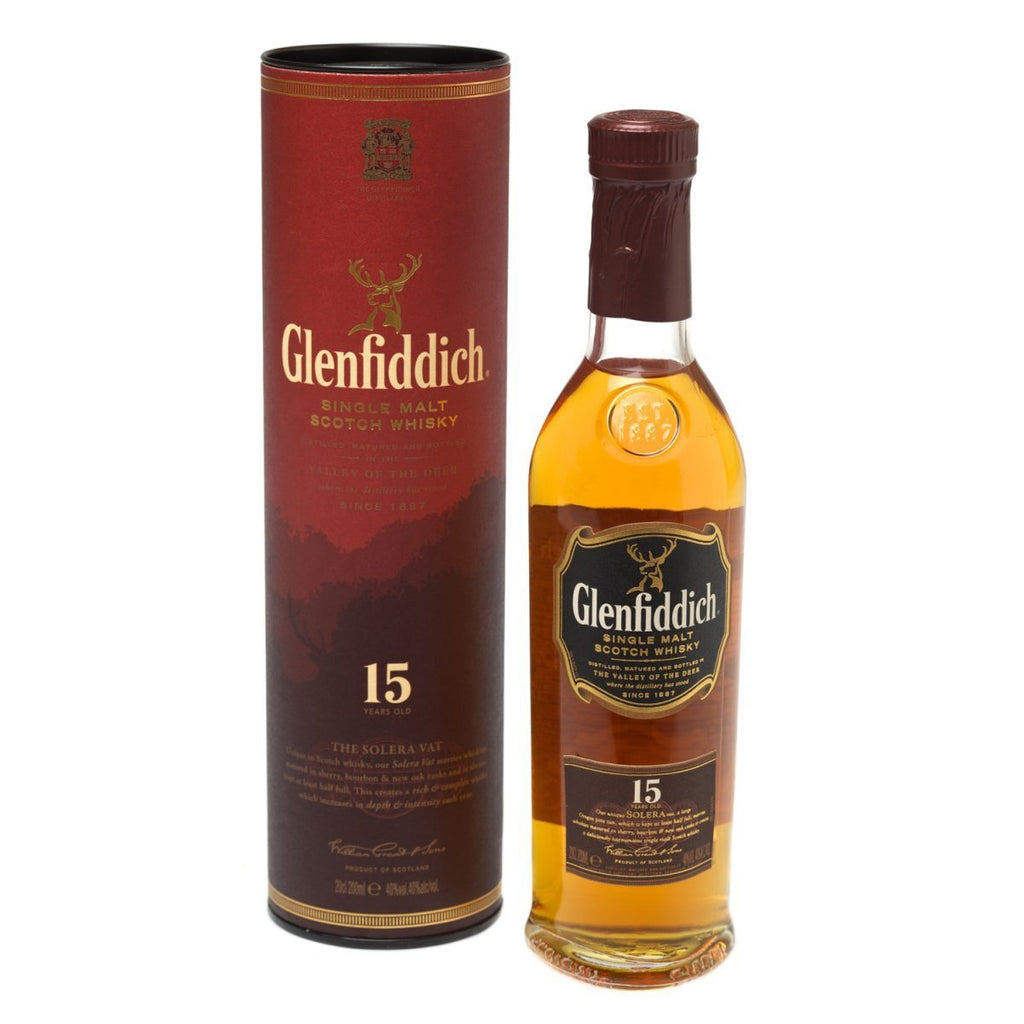 Glenfiddich 15 Year Old Single Malt Scotch Whisky - De Wine Spot | Curated Whiskey, Small-Batch Wines and Sakes