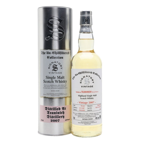 Teaninich 11 yrs Unchillfiltered Signatory Single Malt Scotch Whisky
