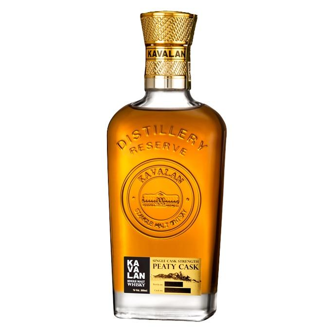 Kavalan Distillery Reserve Peaty Cask Single Cask Strength Single Malt Whisky | De Wine Spot - Curated Whiskey, Small-Batch Wines and Sakes