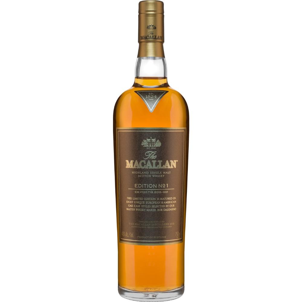 Macallan Edition No. 1 Single Malt Scotch Whisky - De Wine Spot | Curated Whiskey, Small-Batch Wines and Sakes