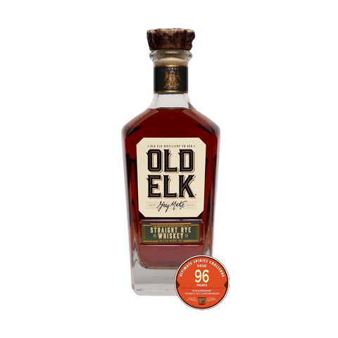 Old Elk 100 Proof Straight Rye Whiskey - De Wine Spot | Curated Whiskey, Small-Batch Wines and Sakes