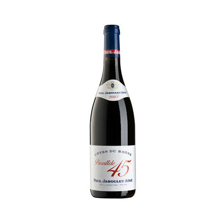Paul Jaboulet Aine Cotes du Rhone Rouge Parallele 45 - De Wine Spot | Curated Whiskey, Small-Batch Wines and Sakes