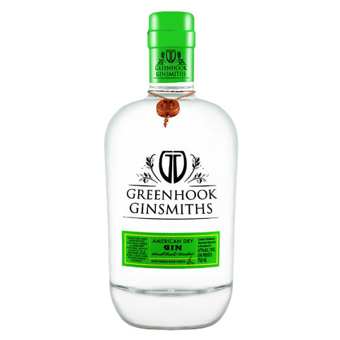 Greenhook Ginsmiths American Dry Gin - De Wine Spot | Curated Whiskey, Small-Batch Wines and Sakes