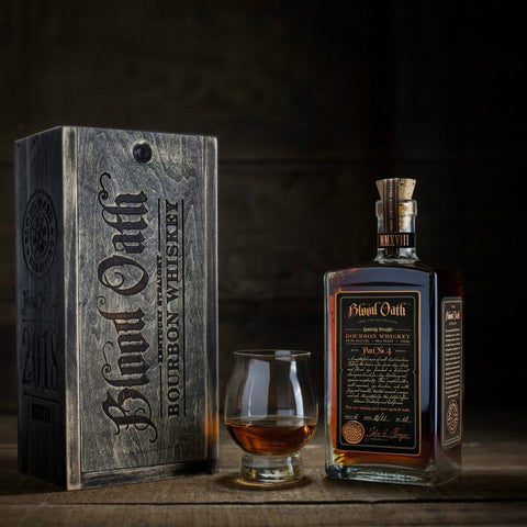 Blood Oath Kentucky Straight Bourbon Whiskey Pact No.4 - De Wine Spot | Curated Whiskey, Small-Batch Wines and Sakes