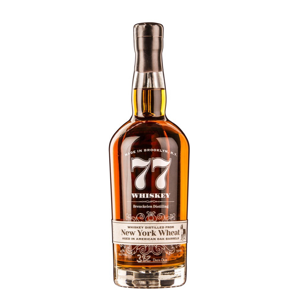 Breuckelen 77 Whiskey NY Wheat - De Wine Spot | Curated Whiskey, Small-Batch Wines and Sakes