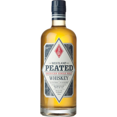 Westland Distillery Peated Single Malt Whiskey - De Wine Spot | Curated Whiskey, Small-Batch Wines and Sakes