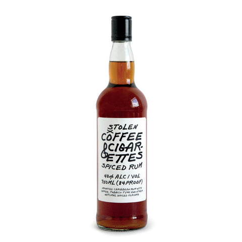 Stolen Smoked Spiced Rum (formerly coffee and cigarettes) | De Wine Spot - Curated Whiskey, Small-Batch Wines and Sakes