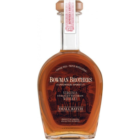 Bowman Brothers Small Batch Virginia Straight Bourbon Whiskey - De Wine Spot | Curated Whiskey, Small-Batch Wines and Sakes