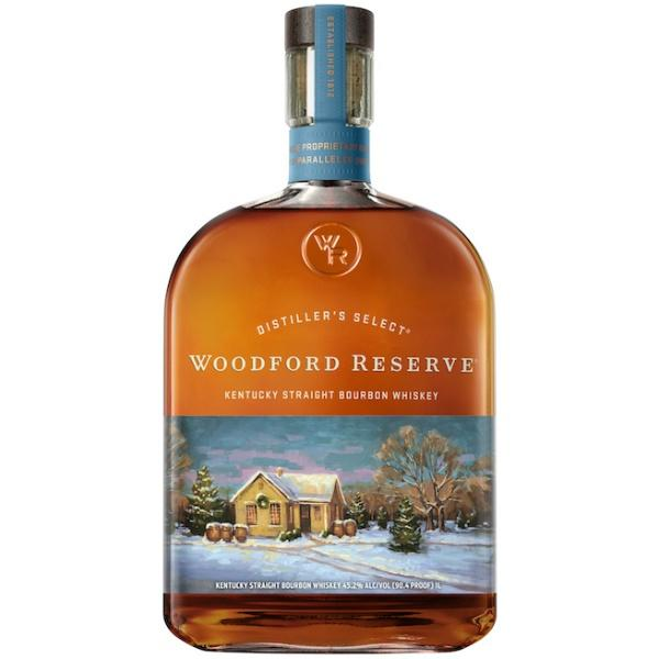 Woodford Reserve 2018 Holiday Edition Kentucky Straight Bourbon Whiskey