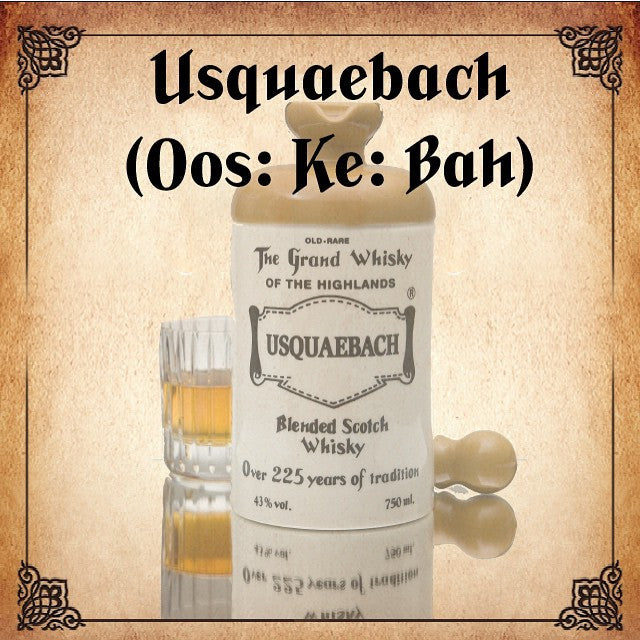 Usquaebach Flagon Ceramic Old Rare Blended Scotch Whisky - De Wine Spot | Curated Whiskey, Small-Batch Wines and Sakes