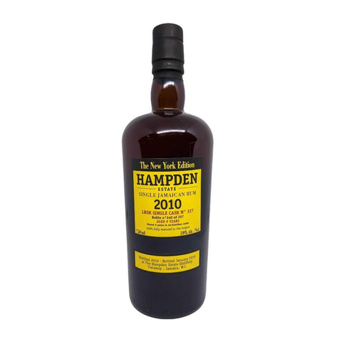 Hampden Estate The New York Edition 2010 LROK Single Cask Jamaican Rum