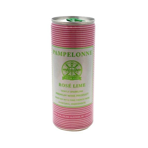 Pampelonne Rose Lime 4-Pack - De Wine Spot | Curated Whiskey, Small-Batch Wines and Sakes