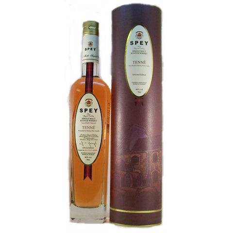 Spey Tenne Single Malt Scotch Whisky | De Wine Spot - Curated Whiskey, Small-Batch Wines and Sakes