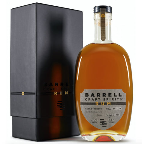 Barrell Craft Spirits Limited Edition Rum - De Wine Spot | Curated Whiskey, Small-Batch Wines and Sakes