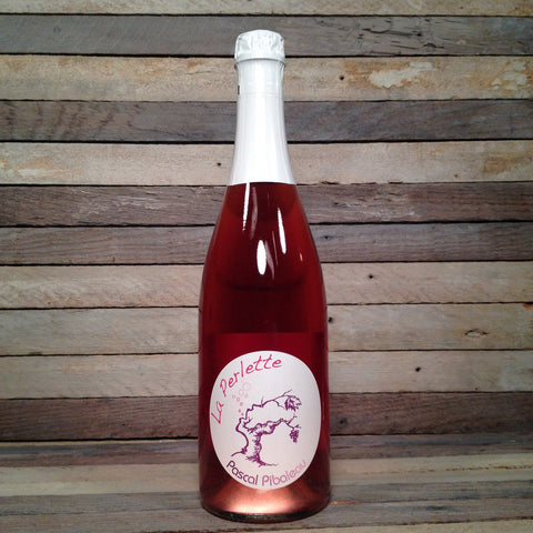 Pascal Pibaleau La Perlette Sparkling Rose - De Wine Spot | Curated Whiskey, Small-Batch Wines and Sakes