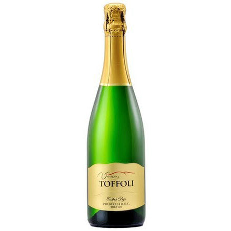 Vincenzo Toffoli Gold Prosecco di Conegliano-Valdobbiadene Superiore DOCG | De Wine Spot - Curated Whiskey, Small-Batch Wines and Sakes