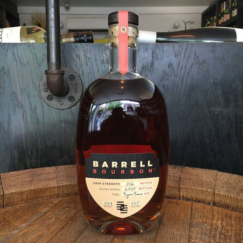 Barrell Bourbon Batch#016