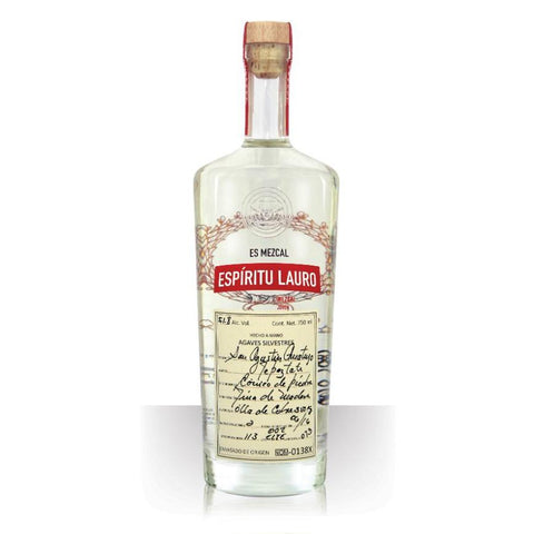 Espiritu Lauro Mezcal Agave Silvestres Tepeztate - De Wine Spot | Curated Whiskey, Small-Batch Wines and Sakes