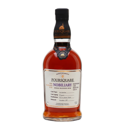 "Foursquare Distillery Mark XII ""Nobiliary"" 14 Year Old Exceptional Cask Selection Single Blended Rum - De Wine Spot 