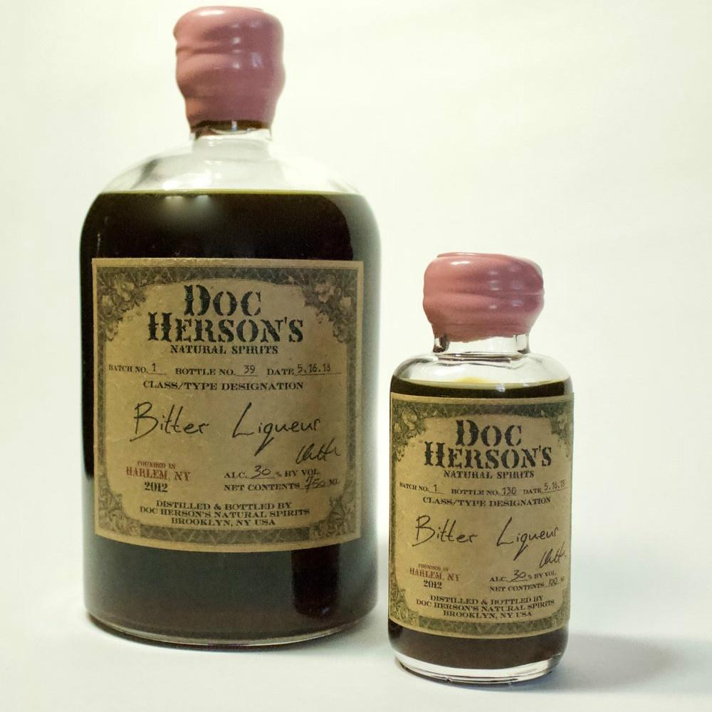 Doc Herson's Natural Spirits Bitter Liqueur - De Wine Spot | Curated Whiskey, Small-Batch Wines and Sakes