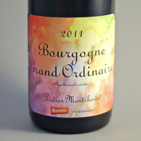 Didier Montchovet Bourgogne Grand Ordinaire - De Wine Spot | Curated Whiskey, Small-Batch Wines and Sakes