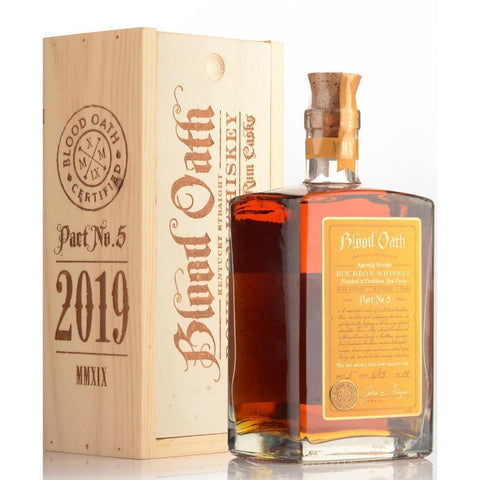 Blood Oath Kentucky Straight Bourbon Whiskey Pact No.5