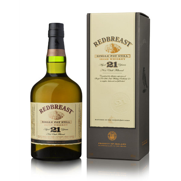Redbreast 21 Years Single Pot Still Irish Whiskey | De Wine Spot - Curated Whiskey, Small-Batch Wines and Sakes