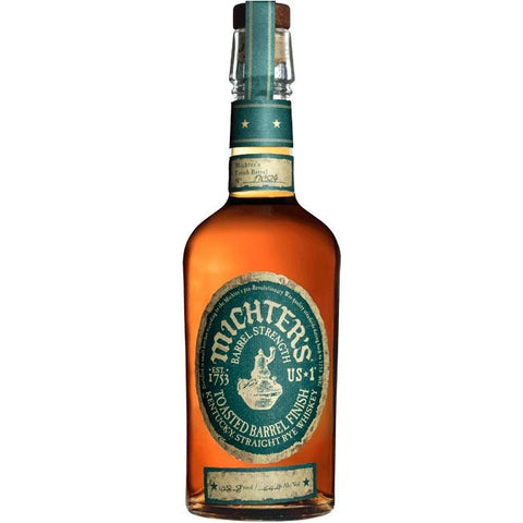 Michter's US*1 Barrel Strength Toasted Barrel Finish Kentucky Straight Rye Whiskey - De Wine Spot | Curated Whiskey, Small-Batch Wines and Sakes