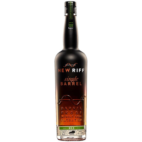 New Riff Distilling Single Barrel Rye Whiskey - De Wine Spot | Curated Whiskey, Small-Batch Wines and Sakes