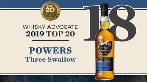 Powers Three Swallow Release Single Pot Still Irish Whiskey - De Wine Spot | Curated Whiskey, Small-Batch Wines and Sakes