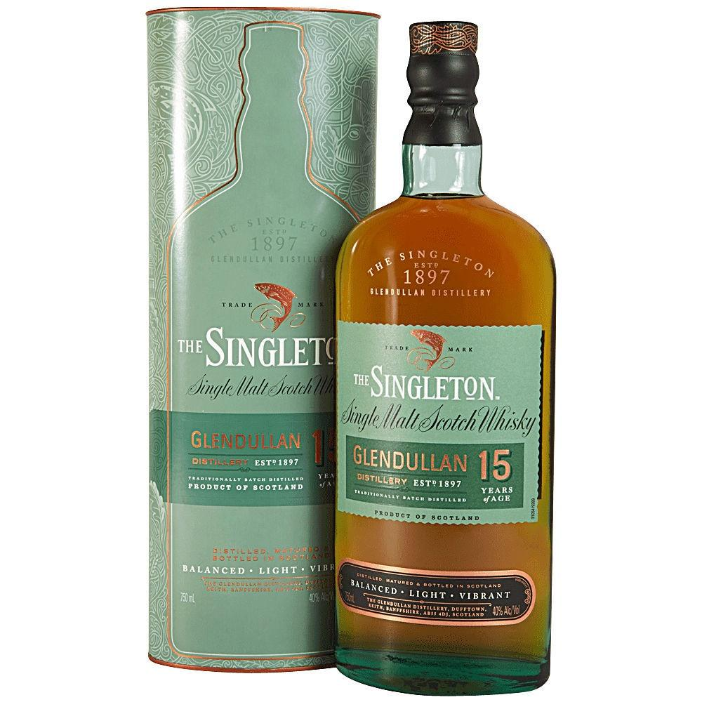 Glendullan Distillery The Singleton 15 Years Speyside Single Malt Scotch Whisky - De Wine Spot | Curated Whiskey, Small-Batch Wines and Sakes