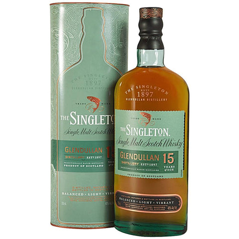 Glendullan Distillery The Singleton 15 Years Speyside Single Malt Scotch Whisky | De Wine Spot - Curated Whiskey, Small-Batch Wines and Sakes