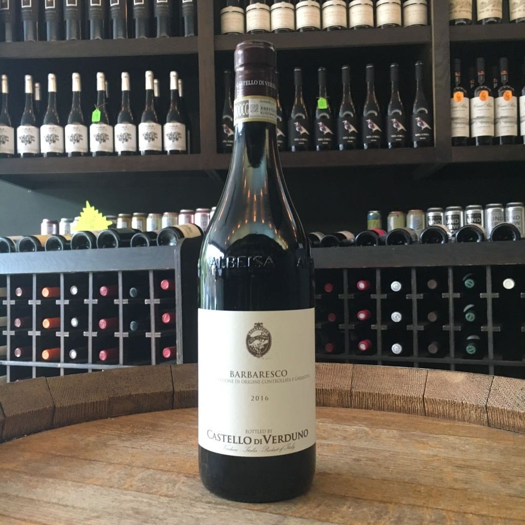 Castello di Verduno Barbaresco - De Wine Spot | Curated Whiskey, Small-Batch Wines and Sakes