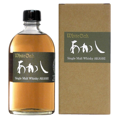 Akashi Single Malt Whisky - De Wine Spot | Curated Whiskey, Small-Batch Wines and Sakes