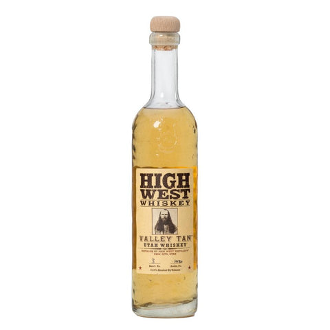 High West Valley Tan Utah Whiskey