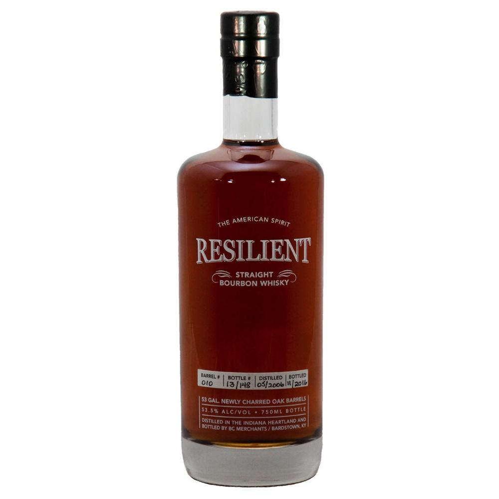 Resilient 10-Year-Old Single Barrel Straight Bourbon Whiskey Release #1 | De Wine Spot - Curated Whiskey, Small-Batch Wines and Sakes
