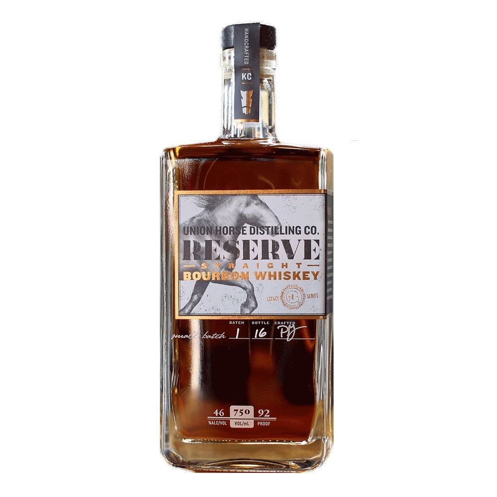 Union Horse Distilling Co. Reserve Straight Bourbon Whiskey | De Wine Spot - Curated Whiskey, Small-Batch Wines and Sakes