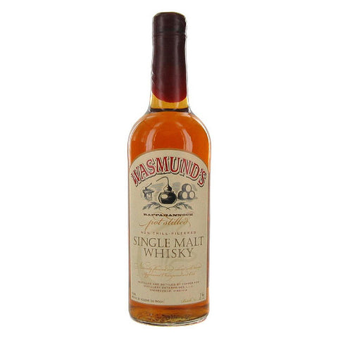 Wasmund's Single Malt Whisky - De Wine Spot | Curated Whiskey, Small-Batch Wines and Sakes