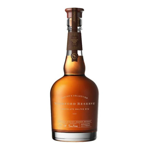 Master's Collection Woodford Reserve Chocolate Malted Rye Kentucky Straight Bourbon Whiskey - De Wine Spot | Curated Whiskey, Small-Batch Wines and Sakes