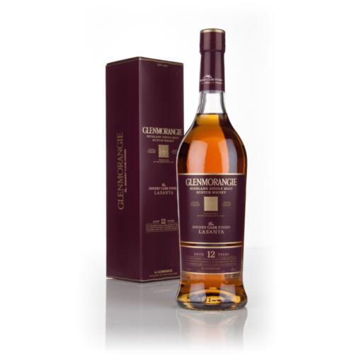 Glenmorangie Lasanta 12 Years Highland Single Malt Scotch Whisky | De Wine Spot - Curated Whiskey, Small-Batch Wines and Sakes