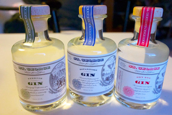 St. George Gin Combo Pack - De Wine Spot | Curated Whiskey, Small-Batch Wines and Sakes