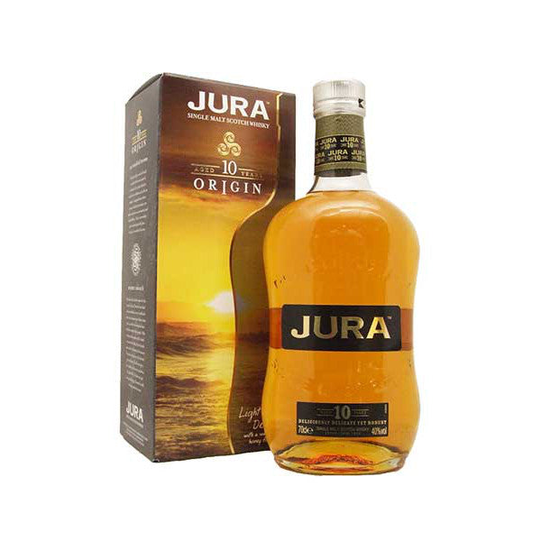 Isle of Jura 10 Years Single Malt Scotch Whisky - De Wine Spot | Curated Whiskey, Small-Batch Wines and Sake Collection