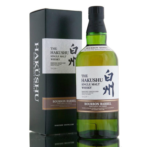 Hakushu Bourbon Barrel Single Malt Japanese Whisky - De Wine Spot | Curated Whiskey, Small-Batch Wines and Sakes