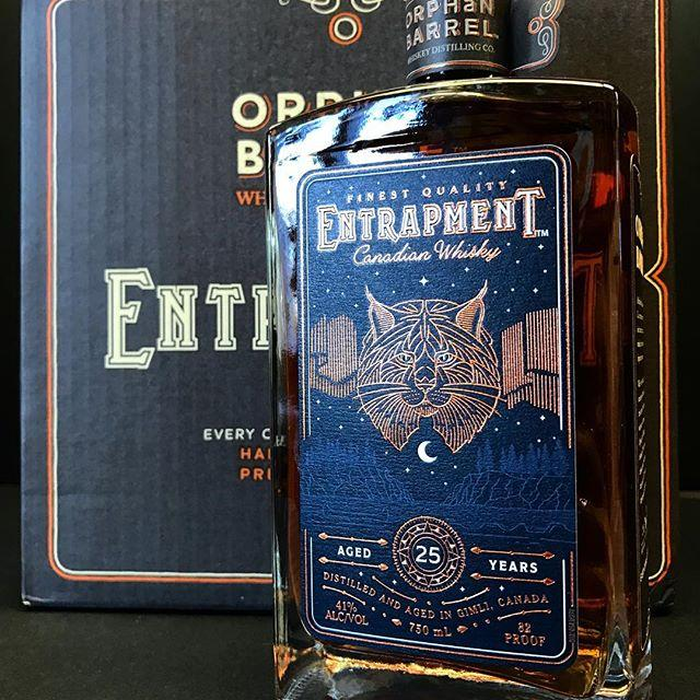 Orphan Barrel Entrapment Aged 25 Years Canadian Whisky | De Wine Spot - Curated Whiskey, Small-Batch Wines and Sakes