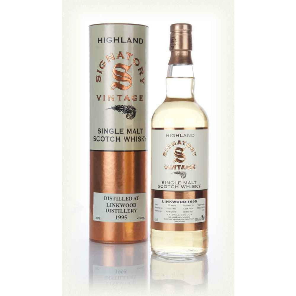Linkwood 21 yrs Speyside Signatory Single Malt Scotch Whisky | De Wine Spot - Curated Whiskey, Small-Batch Wines and Sakes