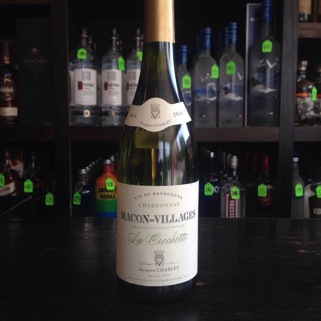 Jacques Charlet Macon-Villages La Crochette | De Wine Spot - Curated Whiskey, Small-Batch Wines and Sakes