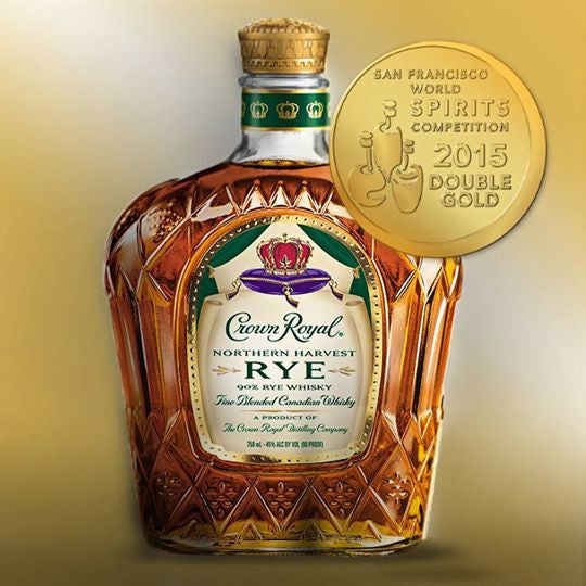 Crown Royal Northern Harvest Rye Whisky - De Wine Spot | Curated Whiskey, Small-Batch Wines and Sakes