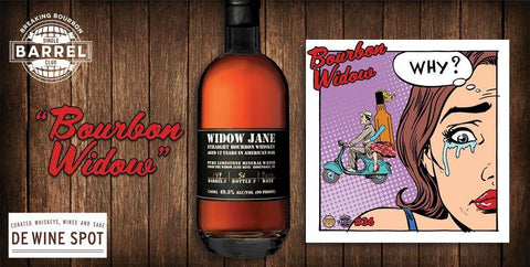 "Widow Jane 13 yrs Breaking Bourbon ""Bourbon Widow"" Single Barrel Bourbon Whiskey - De Wine Spot 